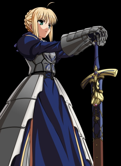 yande 105793 armor fate stay_night saber sword transparent_png vector_trace