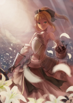 yande 106216 fate stay_night m874 saber saber_lily sword