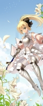 yande 120827 armor fate stay_night fate unlimited_codes miyazaki_byou saber saber_lily stockings thighhighs