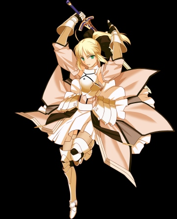 yande 121000 fate stay_night fate unlimited_codes moriya saber saber_lily sword takeuchi_takashi transparent_png type-moon vector_trace
