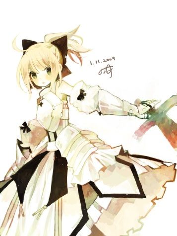 yande 163413 fate stay_night fate unlimited_codes kashiwaba_hisano saber saber_lily