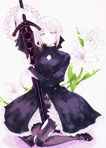 yande 171148 fate hollow_ataraxia fate stay_night pantyhose saber saber_alter screening sword tagme torn_clothes