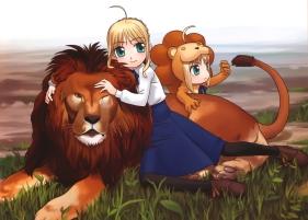yande 193635 chibi fate stay_night hirai_yukio saber saber_lion