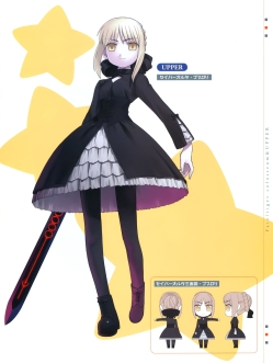 yande 195079 fate stay_night fate tiger_colosseum hirai_yukio pantyhose saber saber_alter