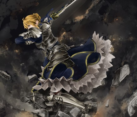 yande 198133 armor dress fate stay_night fate zero saber shinoji sword