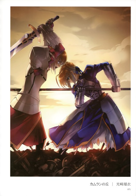 yande 198951 armor blood fate stay_night fate zero kousaki_rui mordred_(fsn) saber