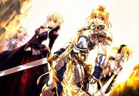yande 210297 armor cleavage dress fate extra fate extra_ccc fate hollow_ataraxia fate stay_night fate unlimited_codes jian_huang saber saber_alter saber_bride saber_extra saber_lily swor
