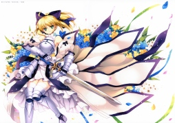 yande 222938 armor capura.l eternal_phantasia fate stay_night fate unlimited_codes fixed saber saber_lily sword thighhighs