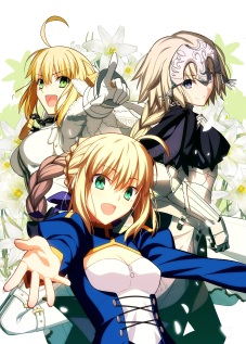 yande 235213 fate apocrypha fate extra fate extra_ccc fate stay_night jeanne_d'arc_(fate apocrypha) saber saber_bride saber_extra takeuchi_takashi type-moon