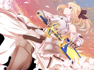 yande 253490 armor fate stay_night fate unlimited_codes minazuki_randoseru saber saber_lily sword