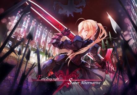 yande 275197 armor dress fate stay_night gen_(artist) saber saber_alter sword