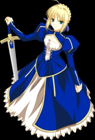 yande 590 fate stay_night ishihara_megumi saber transparent_png vector_trace