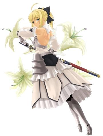 yande 95634 armor dress fate stay_night prime saber saber_lily sword